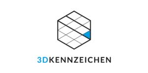 Partner 3D Kennzeichen
